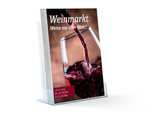 Wein Katalog ( A4 Hochformat 8 Seiten )