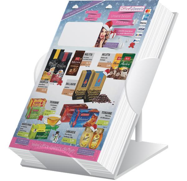 Sweets-Flyer Weihnachten ( A4 Hochformat / 4 Seiten )