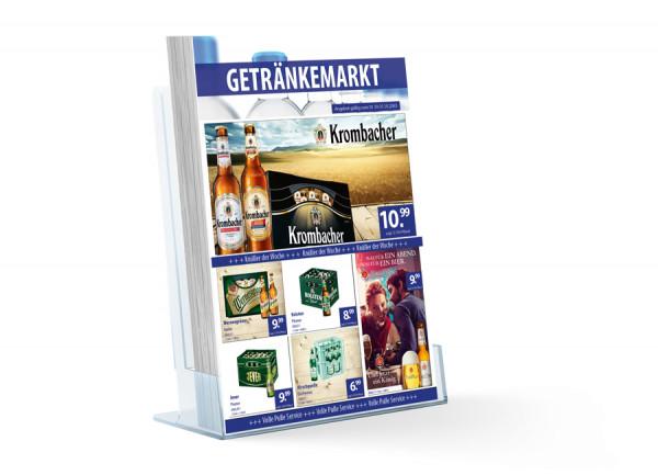 Thomas Getränke Flyer Standard ( A4 Hochformat / 4 Seiten )