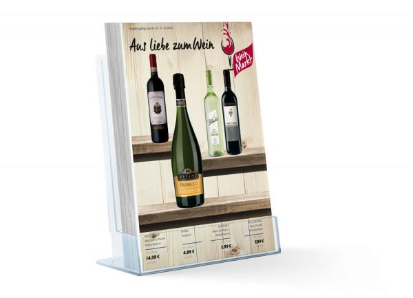 Burg Wein Katalog ( A4 Hochformat 8 Seiten)