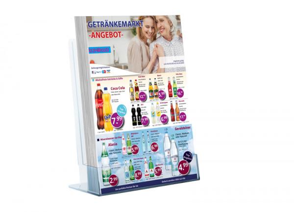 Daniel Getränke Flyer Standard (A4 Hochformat / 2 Seiten)